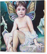 The Faerie Princess Wood Print