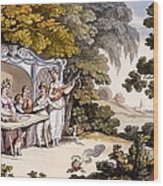 The Fair Penitent, From Ackermanns Wood Print by English School