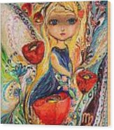 The Fairies Of Zodiac Series - Virgo Wood Print