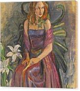 The Fairy Wood Print