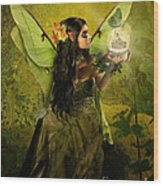 The Fairy Of Clairvoyant Wood Print