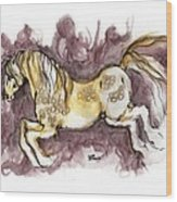 The Fairytale Horse 1 Wood Print
