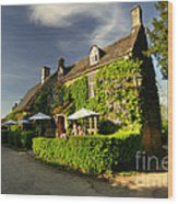 The Falkland Arms  Wood Print