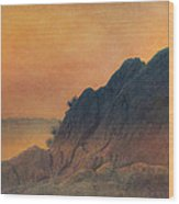 The False Lovers' Rock At Sunset Wood Print