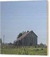 The Family Barn Wood Print