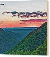 The Far Hills 2 Wood Print