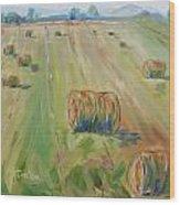 The Farm Wood Print