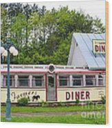 The Farmers Diner In Color Wood Print