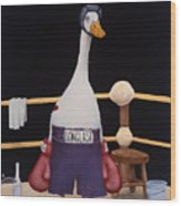 The Featherweight... Wood Print by Will Bullas