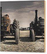The Field Marshall's Wood Print