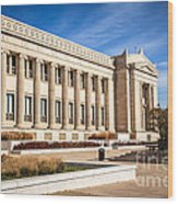 The Field Museum In Chicago Wood Print by Paul Velgos