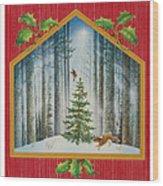 The Fir Tree Wood Print