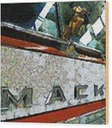 The Fire Truck Wood Print