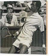 The First Dai Of The Wimbeddon Tennis Tournament Arthur Wood Print