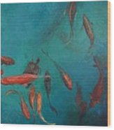 the Fish of Cabo Wood Print