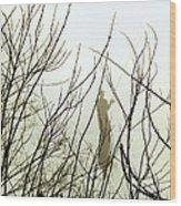 The Fisherman Wood Print