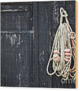 The Fisherman's House Wood Print