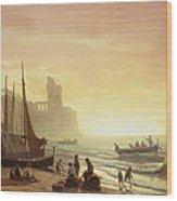 The Fishing Fleet Wood Print