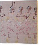 The Five Wise Virgins Wood Print