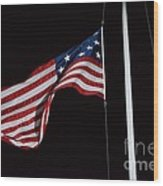 The Flag Of 1801 Wood Print