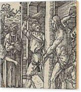 The Flagellation Wood Print