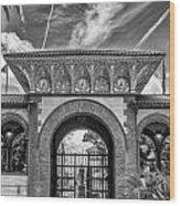 The Flagler College Entrance  Wood Print