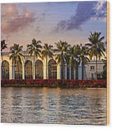 The Flagler Museum Wood Print