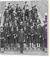 The Flatbush Boys' Club Band Wood Print