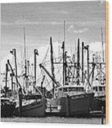 The Fleet Wood Print