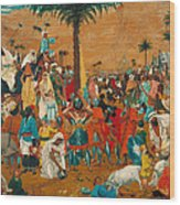 The Flight Out Of Egypt Wood Print