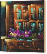 The Flower Box - Scratch Art Series - #31 Wood Print