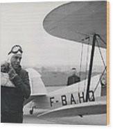 The Flying Ambassador Wood Print
