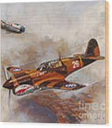 The Flying Tigers Wood Print