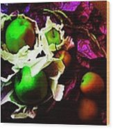 The Forbidden Fruit II Wood Print