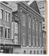 The Ford Theater  Wood Print