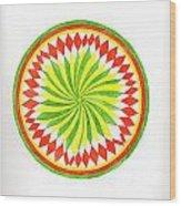 The Forest Mandala Wood Print