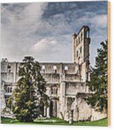 The Forgotten Abbey 2 Wood Print