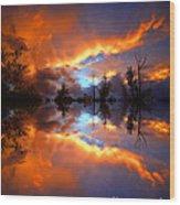 The Forgotten Sunset Wood Print