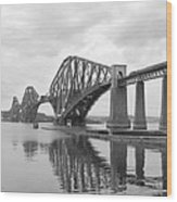 The Forth II Wood Print by Mike McGlothlen