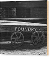 The Foundry Truck Wood Print