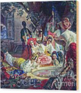 The Fountain Of Bakhchisarai Wood Print