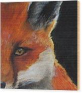 The Fox Wood Print