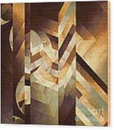 The Framed Dream Wood Print