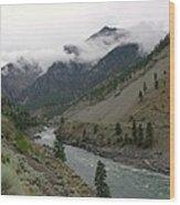 The Fraser River Wood Print