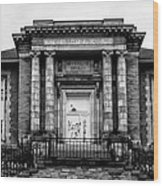 The Free Library Of Philadelphia - Manayunk Branch Wood Print
