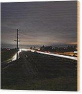 The Freeway Wood Print