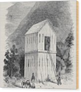 The French Block House Prison Wood Print