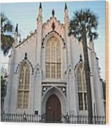 Charleston French Huguenot Church Wood Print