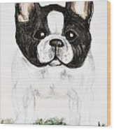 The Frenchton Wood Print by Maria Urso