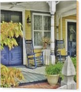 The Front Porch 2 Wood Print